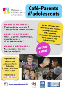 Cafés parents d'octobre à décembre 2020