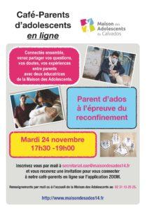 Cafés parents du 24 novembre 2020